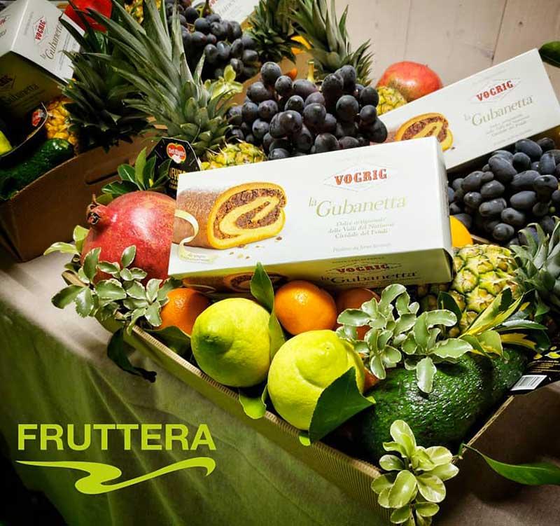 fruttera-confezione cesta regalo