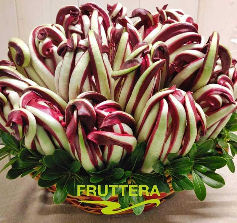 fruttera-cesta regalo radicchio tardivo